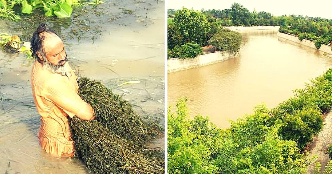 Meet Eco Baba, the Man Who Cleaned a 160 Km Long River with Sheer Grit and Helpful Volunteers
