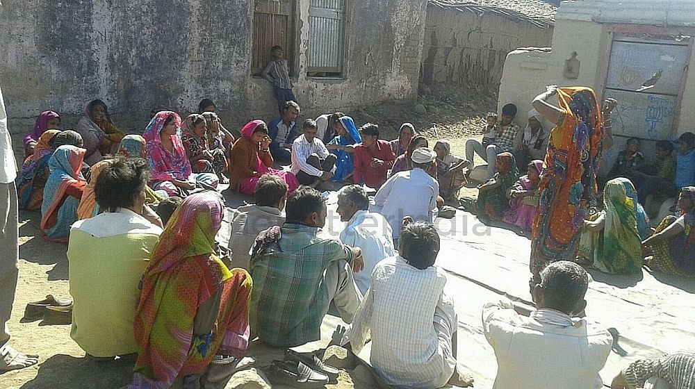 Gram Sabha awareness camp conducted by Roopa
