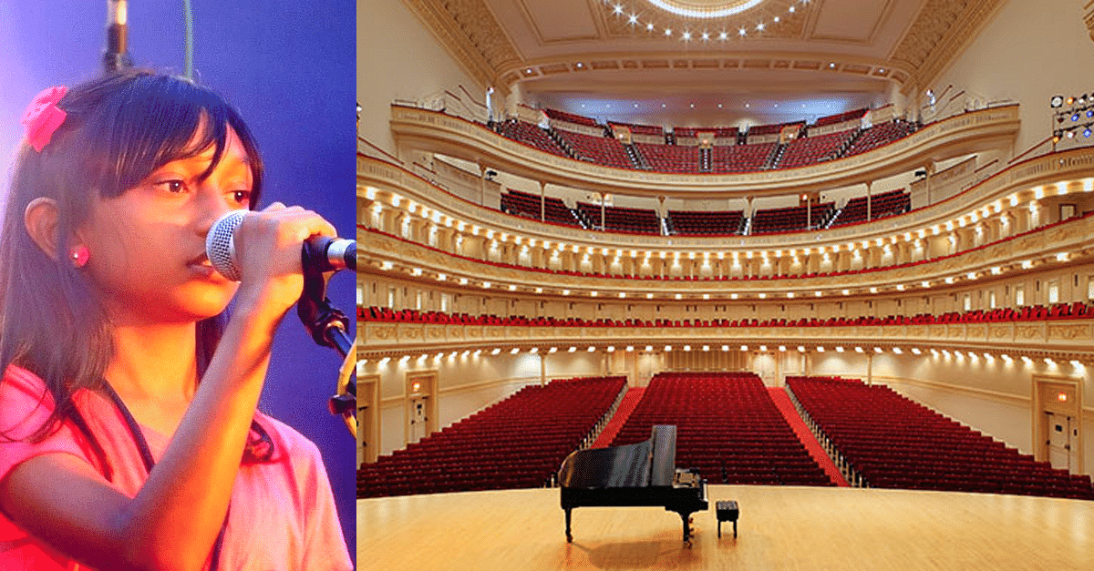 12-year-old Budding Singing Sensation from Bengaluru to Perform at Carnegie Hall