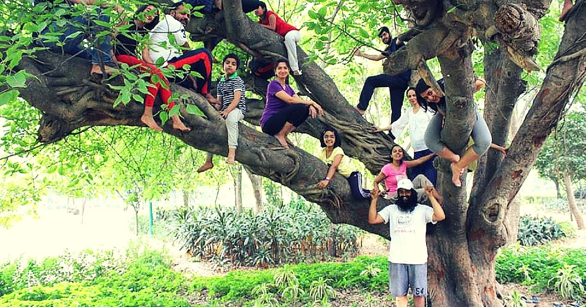 This Delhi Pilot Is Getting People to Embrace Nature by Teaching Them Tree Climbing