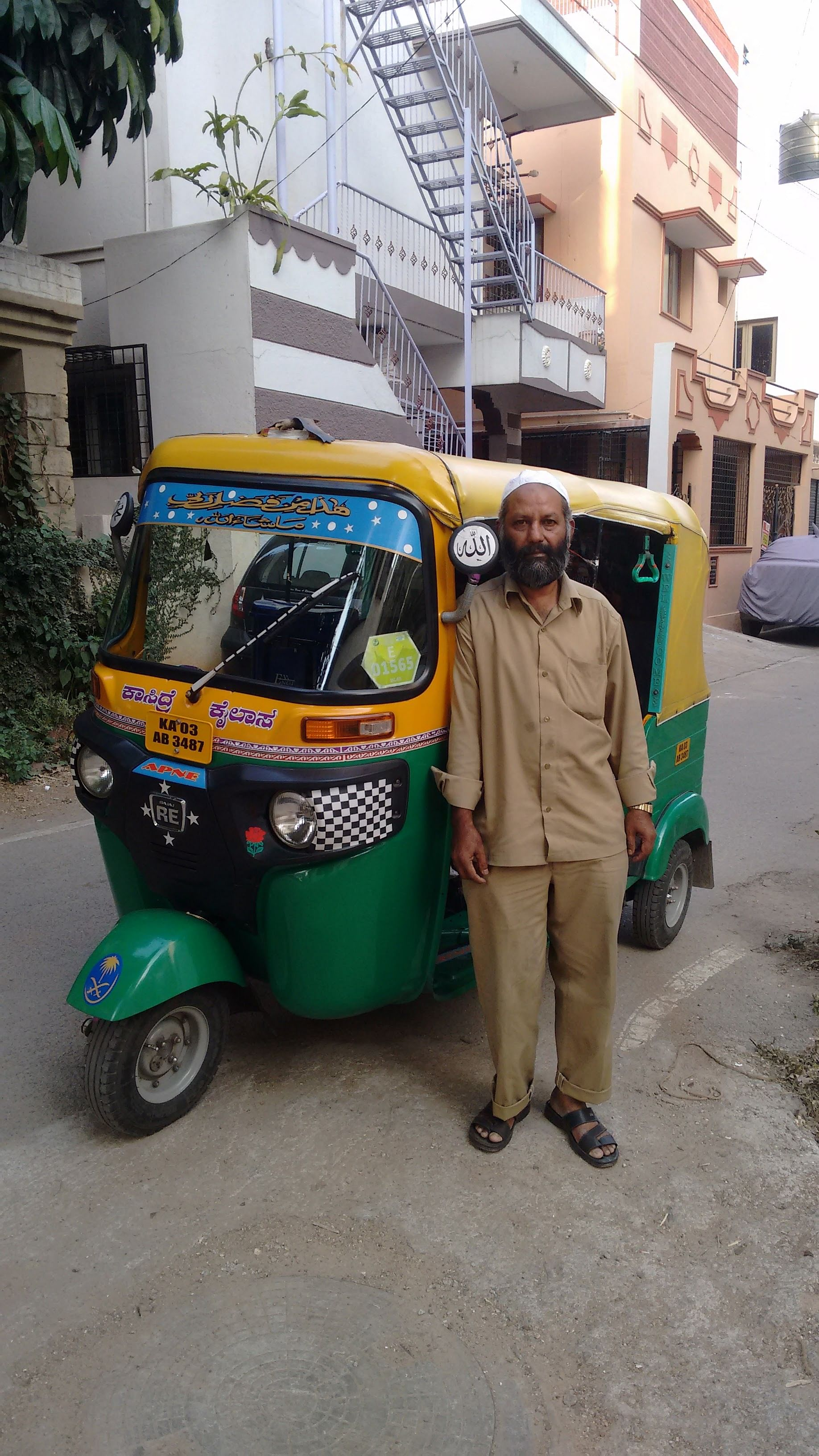 Abdul and his auto
