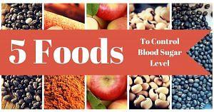 blood sugar control food