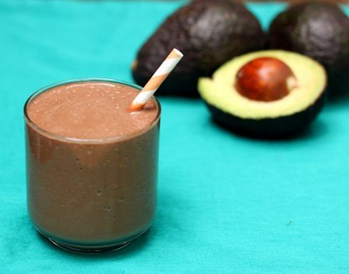 Chocolate-avocado