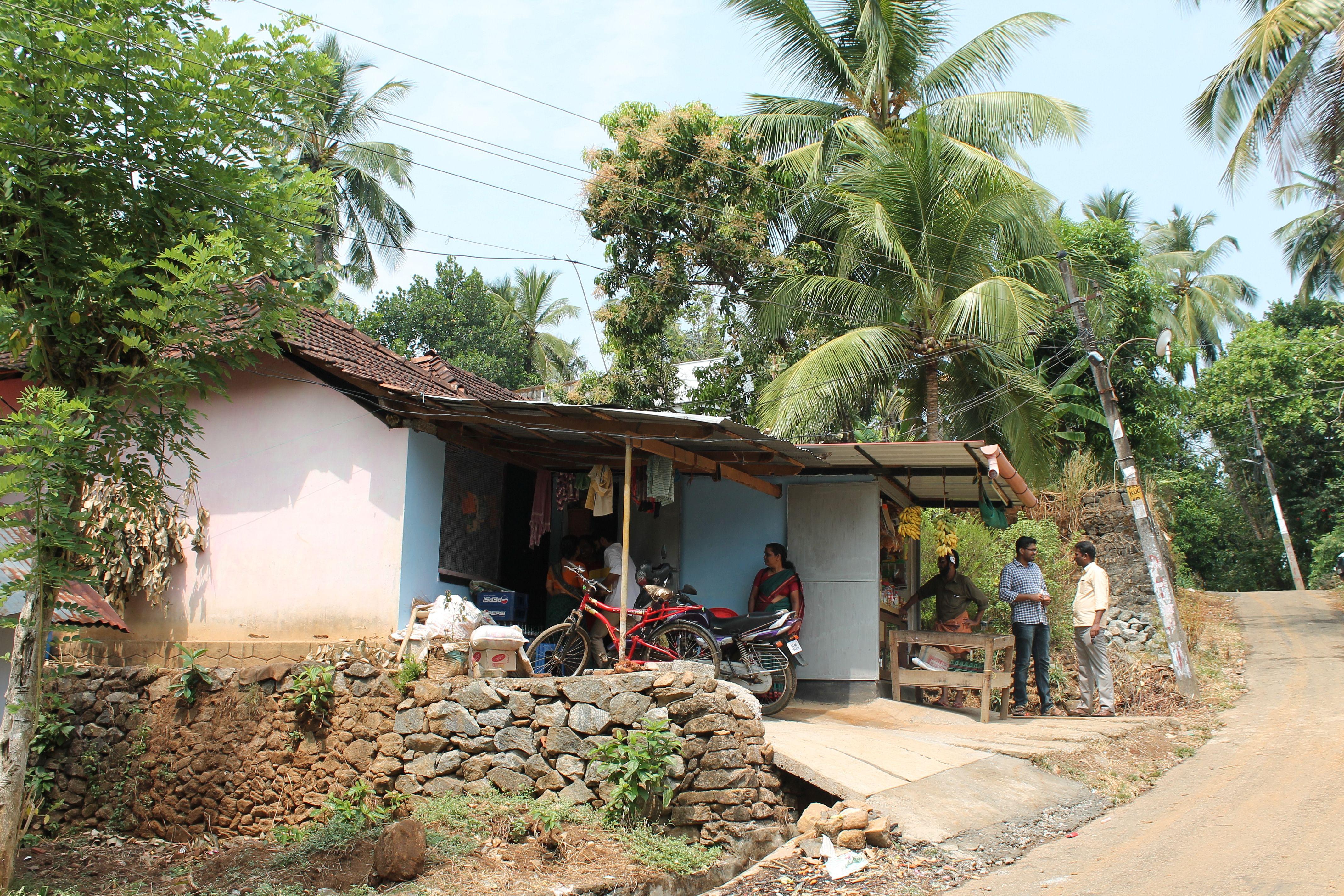 Tailoring unit, livelihood, woman of substance, children, education