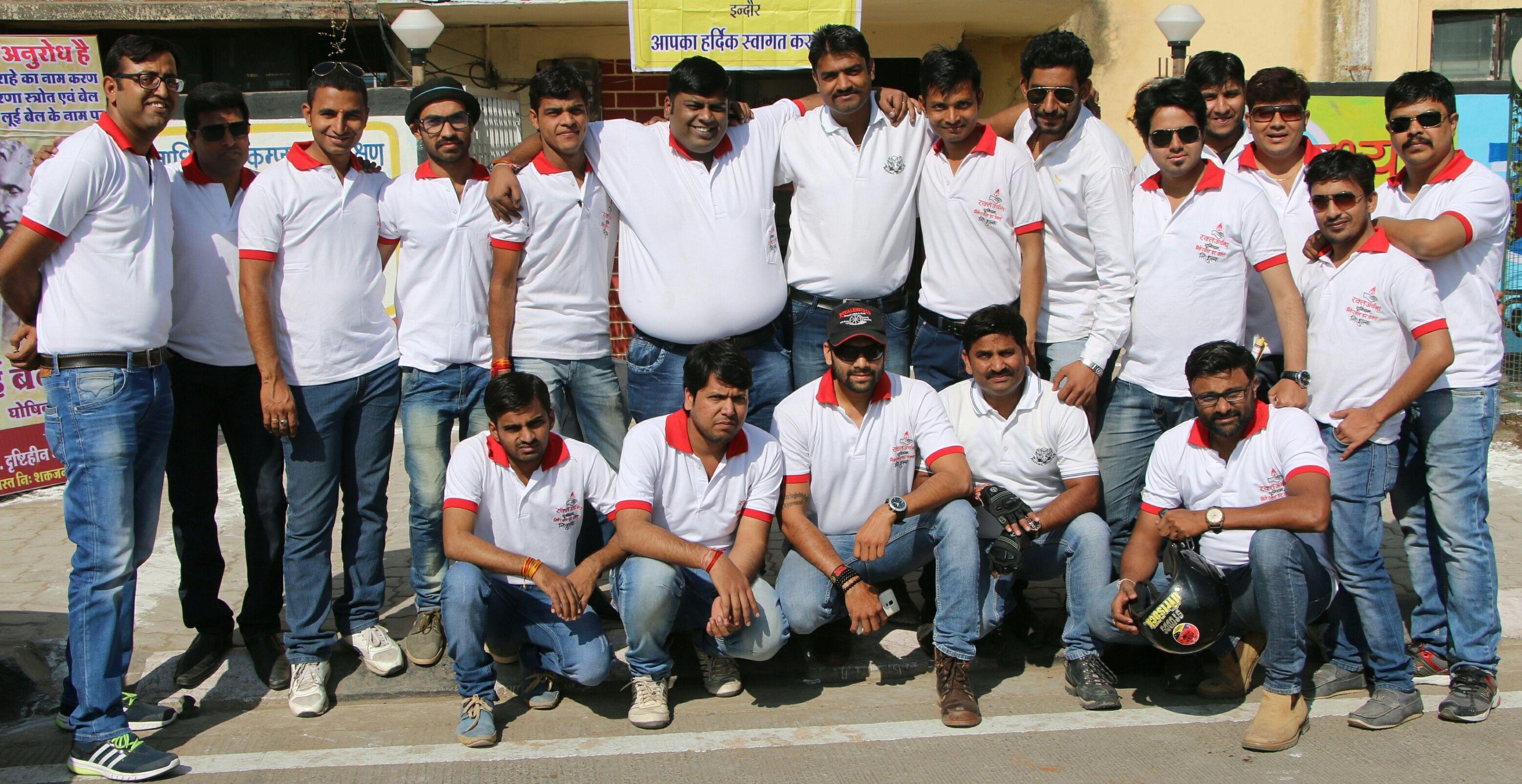 Members of Rakt Archana