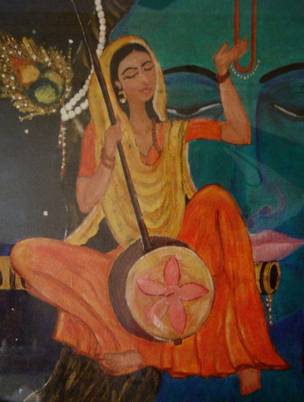 Meerabai_painting