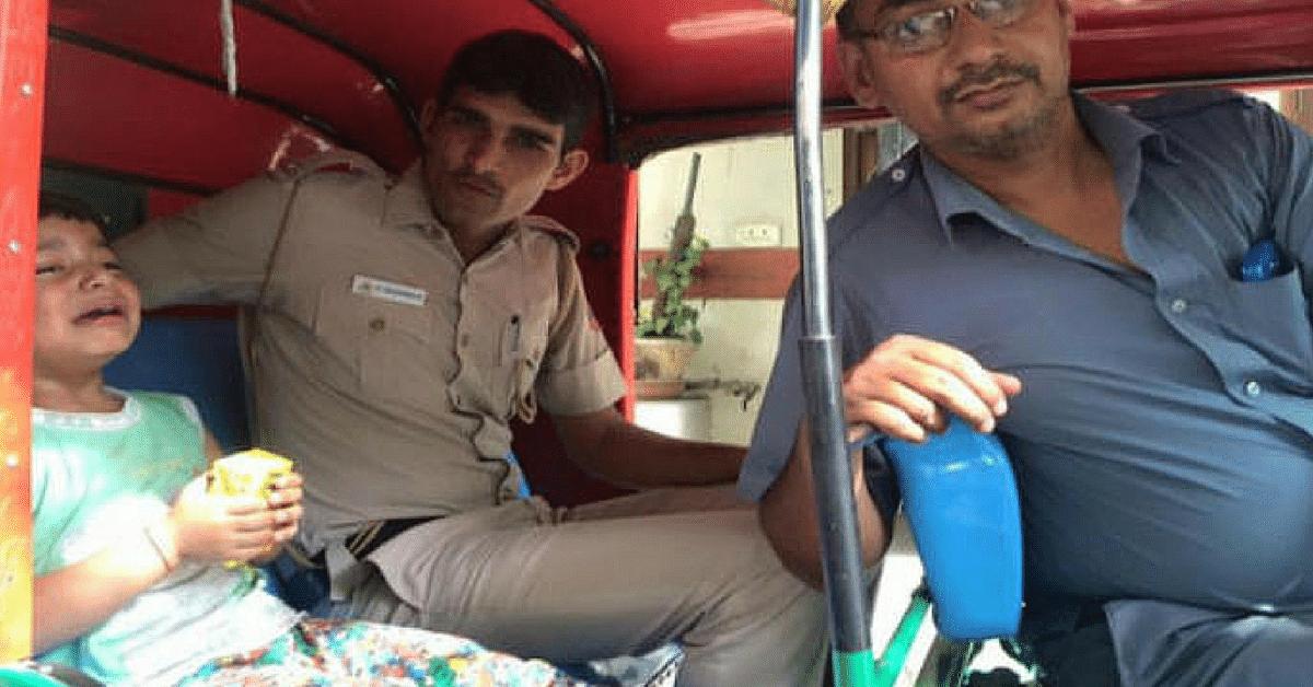 This Cop & Auto-Rickshaw Driver Went Door-to-Door in Delhi to Find a Lost Child His Home