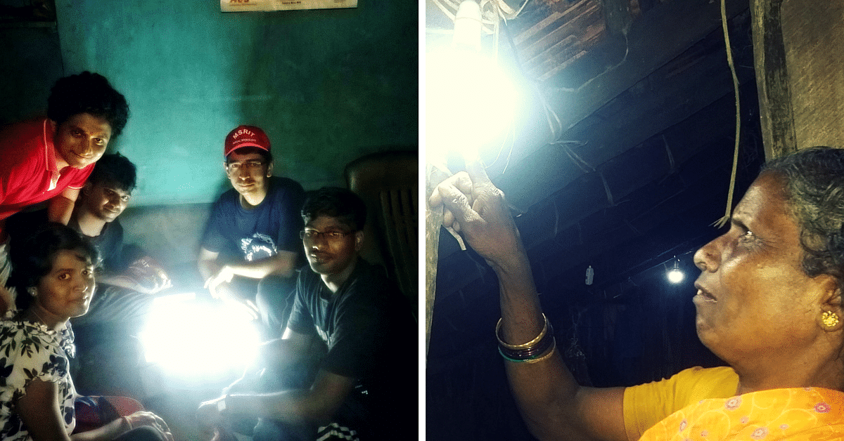 These Engineers and Students Electrified Two Karnataka Villages in Less Than Two Months