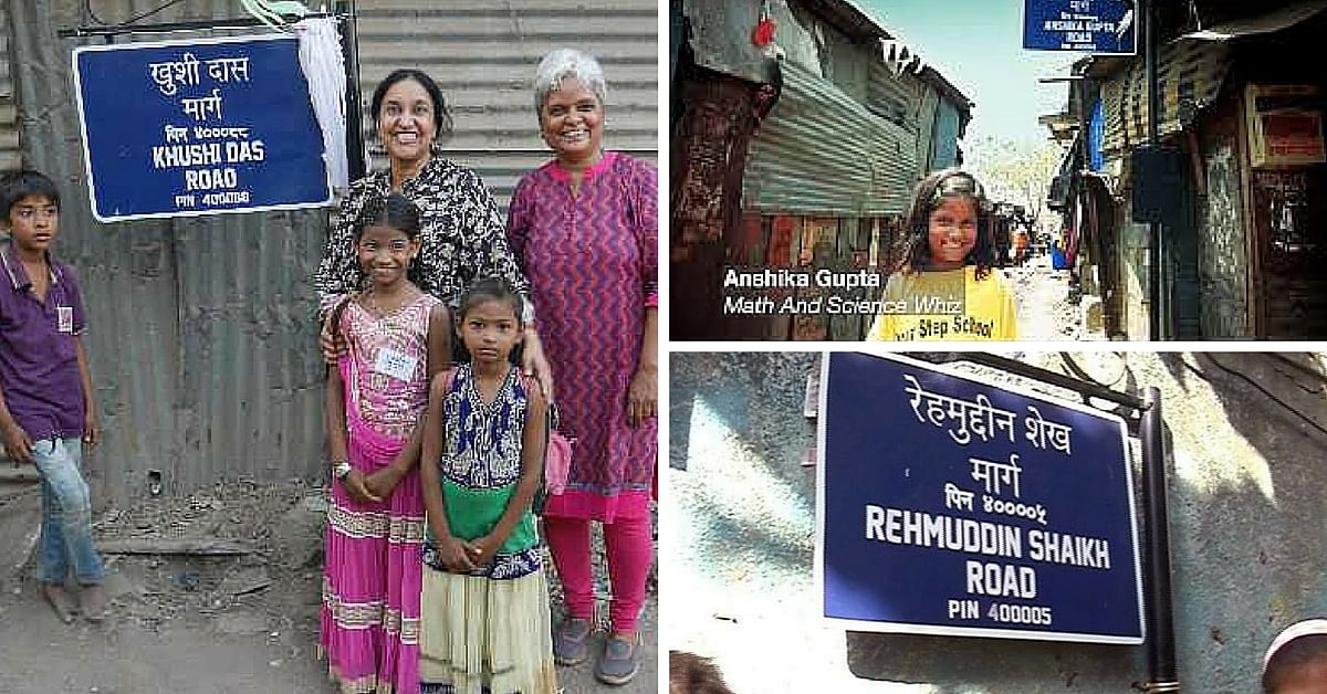 This NGO is Motivating Slum Kids to Stay in School By Naming Alleys and Streets After Them