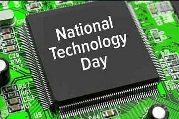 May 11 is celebrated as National Technology Day in order to mark India's technological advancement.