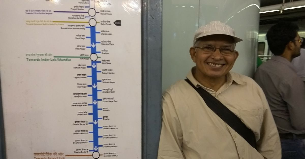 MY STORY: The Day a Cancer Patient in a Delhi Metro Station Restored My Faith in Humanity
