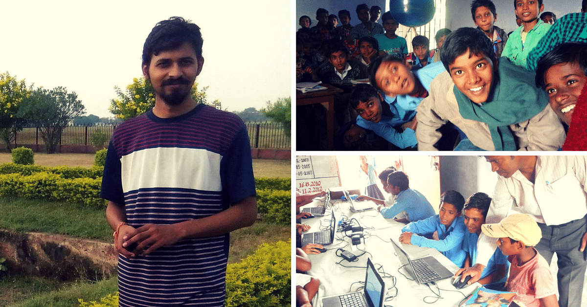 E-Books and Wikipedia Are All the Rage in This Rural School in Bihar, Thanks to This Graduate