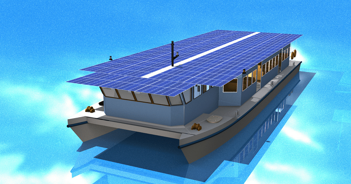 Kerala Govt. Commissions India's First Solar-Powered Boat, Paves the Way for a Greener Tomorrow