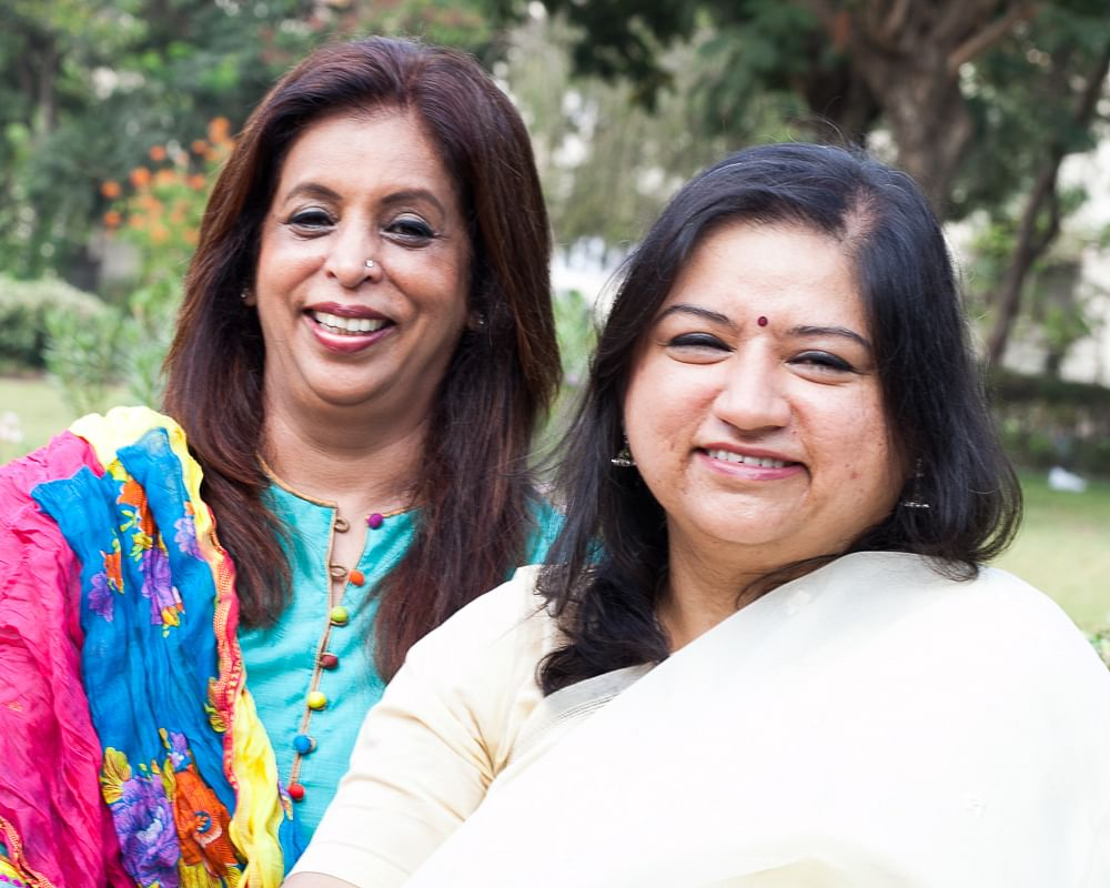 Anubha Sharma and Beenaa Advani