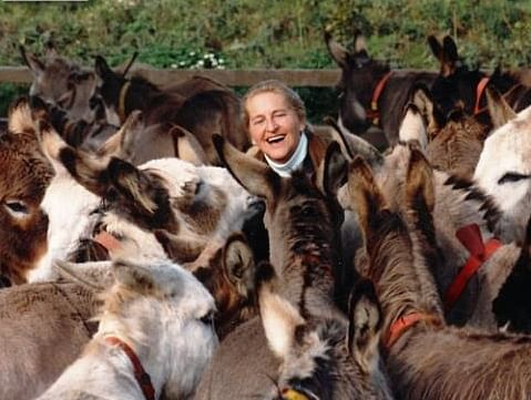 Dr Elizabeth Svendsen with her favorite animals