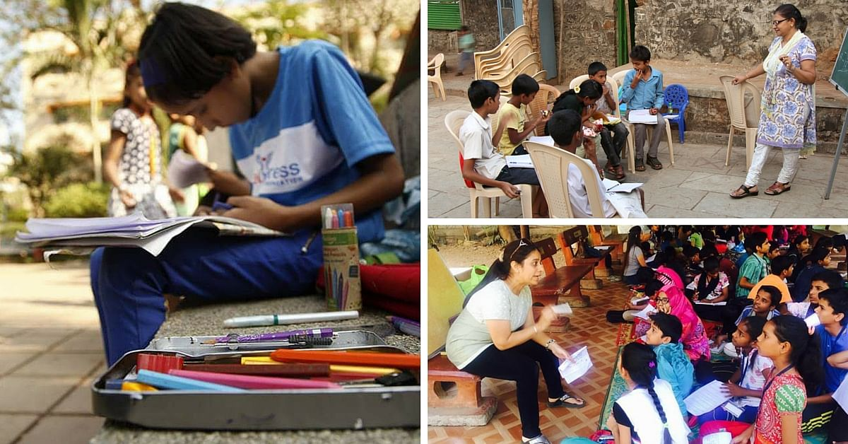 Mumbai NGO Utilizes Public Spaces to Connect Volunteers with Children Who Want to Learn