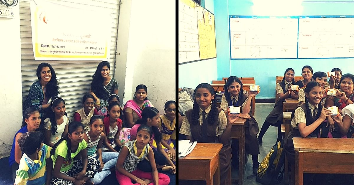 Why Should Girls Quit Schools Once They Get Their Periods? Two Women in Mumbai Fight the Taboo.