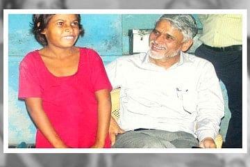 Surendra Kumar Solanki with Chhaya Pargi