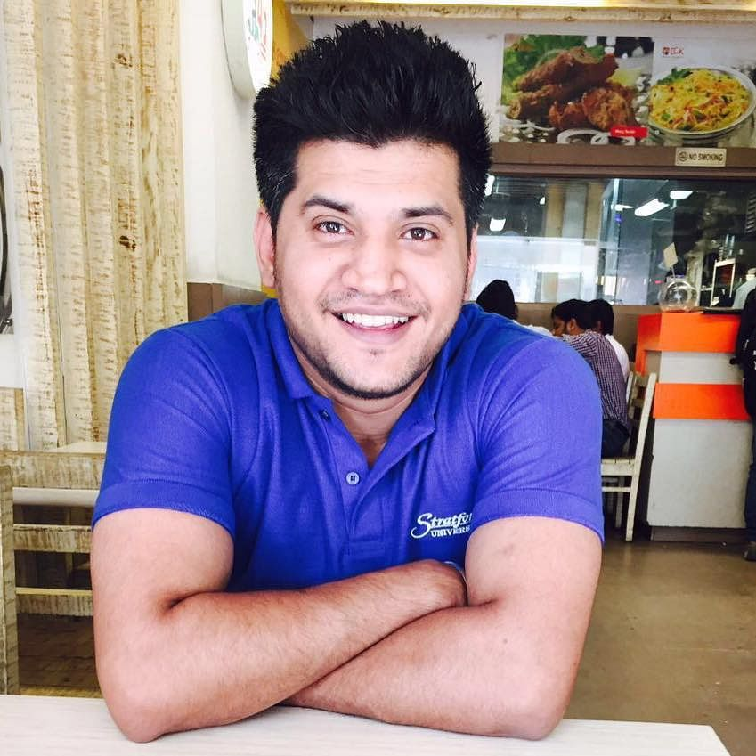 Siddharth Sharma, who lost his life in the recent hit-and-run accident