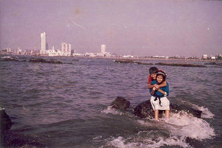 Shilpa and Siddharth as kids