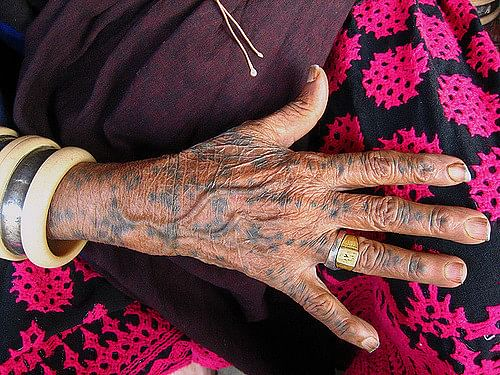 The History Of India S Tradition Of Tattoos
