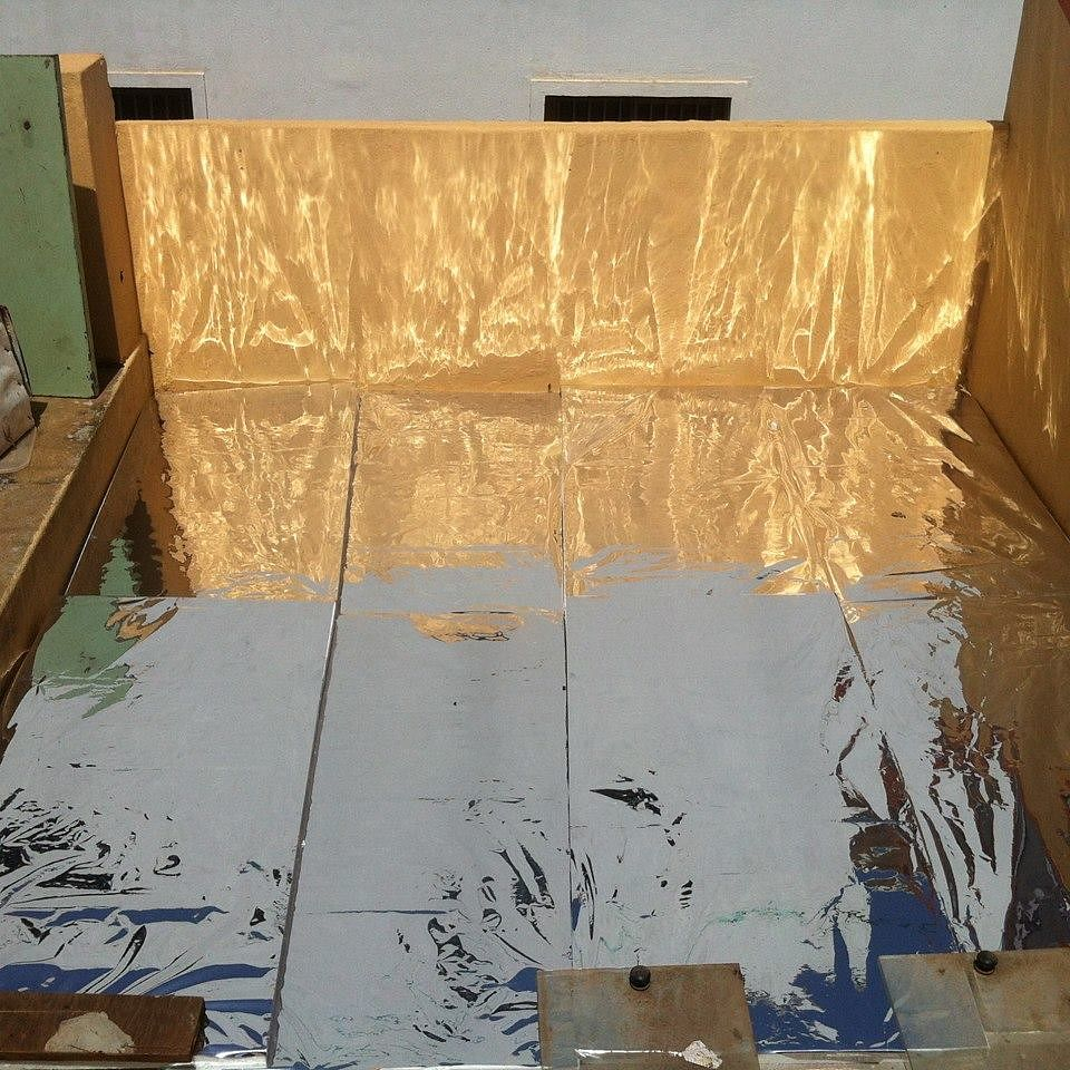DIY: Use Aluminium Foil, Thermocol Sheets and Gunny Bags on Your