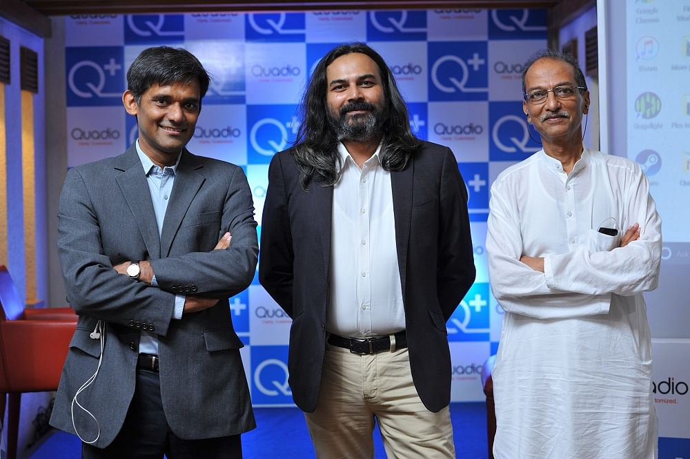 From L to R: Anurag Sharma (Co-founder), Paresh Patel (Co-founder) and Neeraj Dotel (CEO)