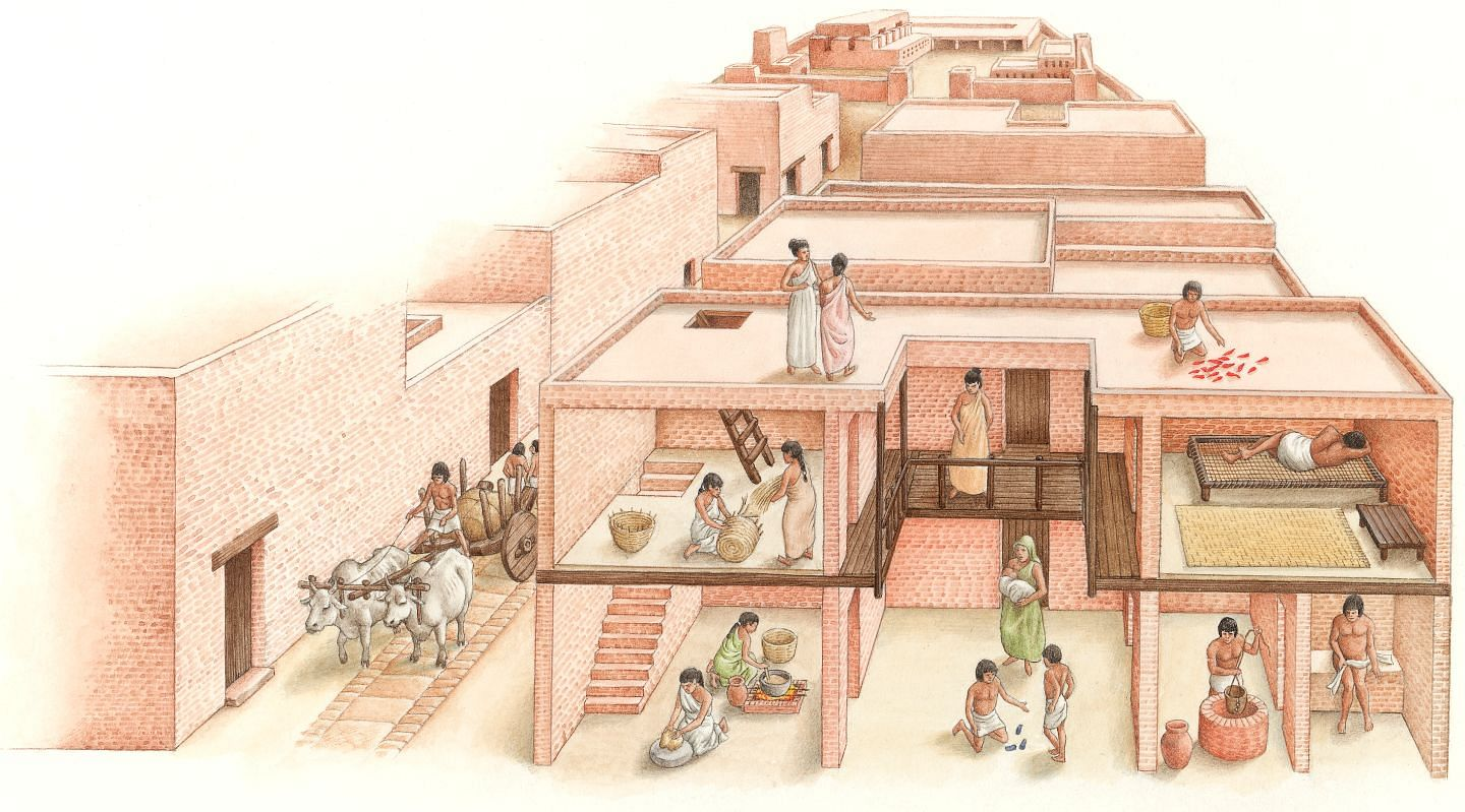 of the or nts of harappan com the lost civilization of mohenjodaro and harappa