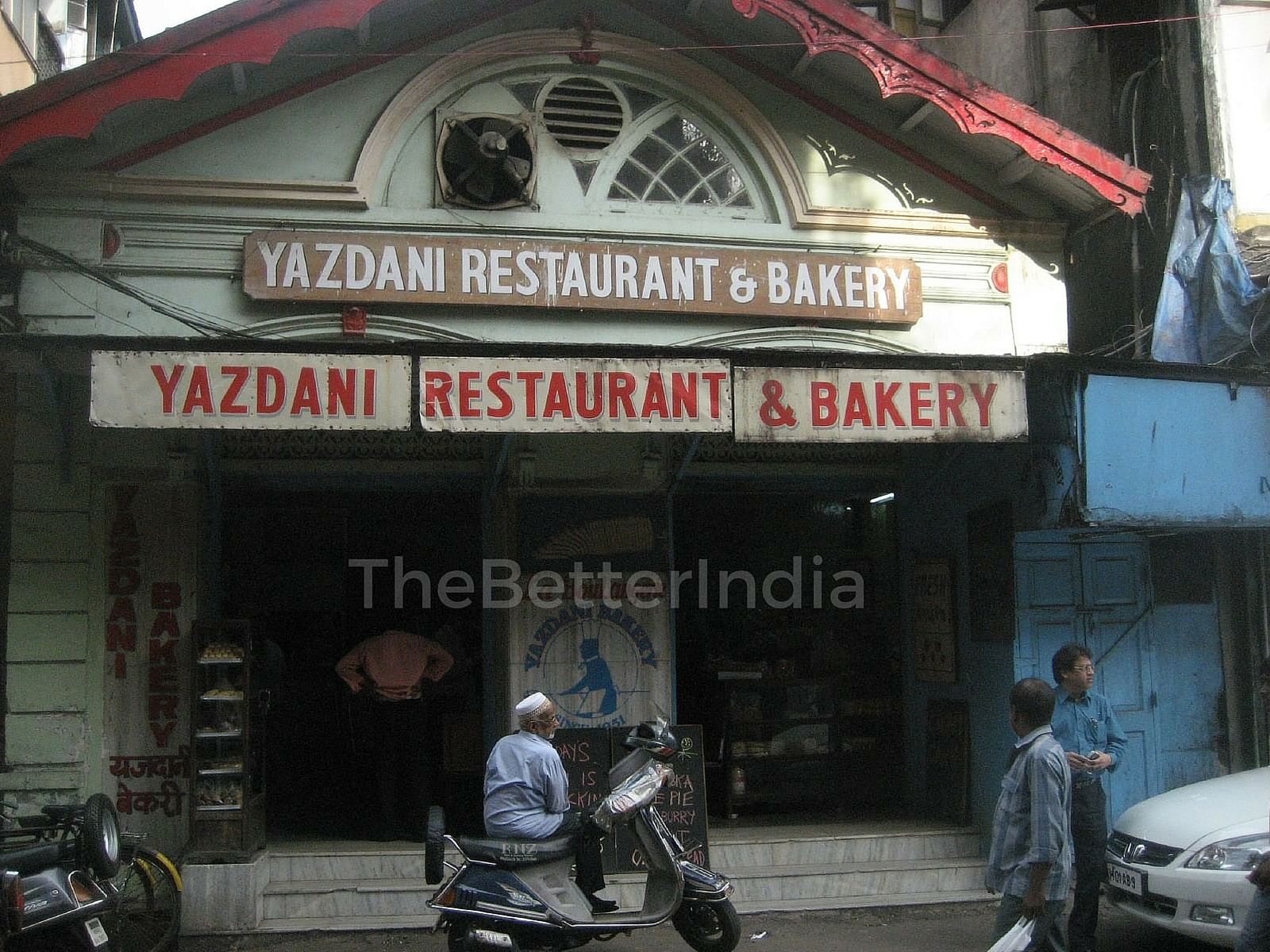 More than a hundred years old, Yazdani Bakery is a tall-ceilinged, sweet-smelling, benign Irani bakery that has stood the test of time.
