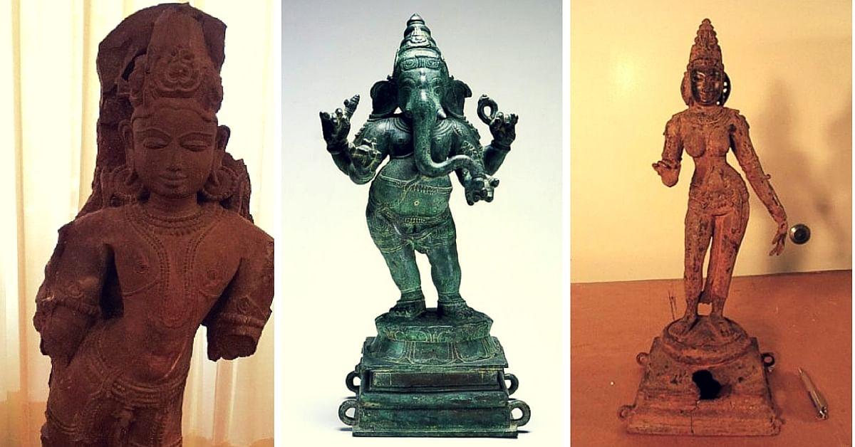Stolen Indian Artefacts