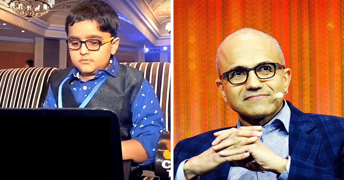 Meet the 8-Year-Old Ace Developer Who Advised Microsoft's Nadella on Sustainable Development