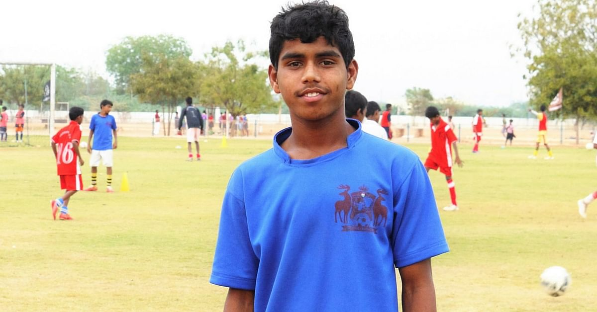 TBI Blogs: Meet the Son of Daily Wage Labourers Who Is on His Way to Playing Football for India