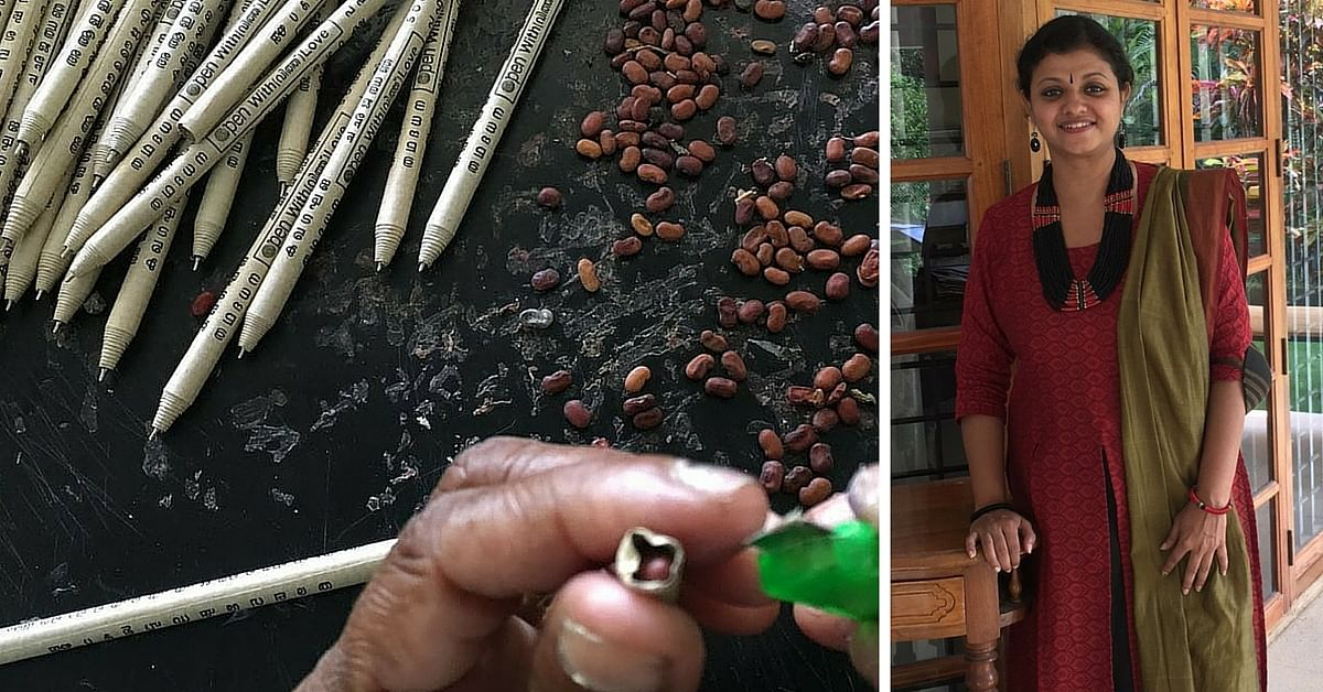 Paper Pens That Not Only Reduce Plastic Waste But Also Have Seeds That Grow into Trees!