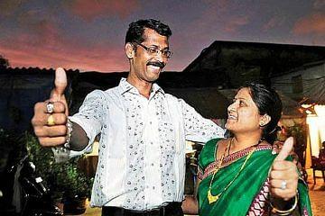 Sunil and Sunita Tambe