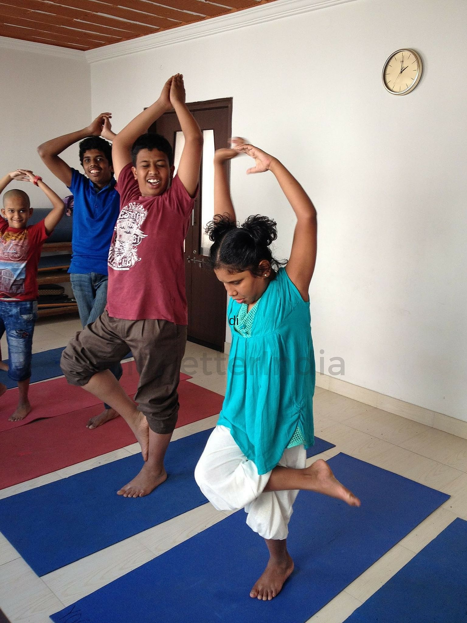 Besides physical therapy, neuro linguistic programmimg and manual muscle work alternate methods, such as yoga, art and music, are also used in the rehabilitation process of the children.