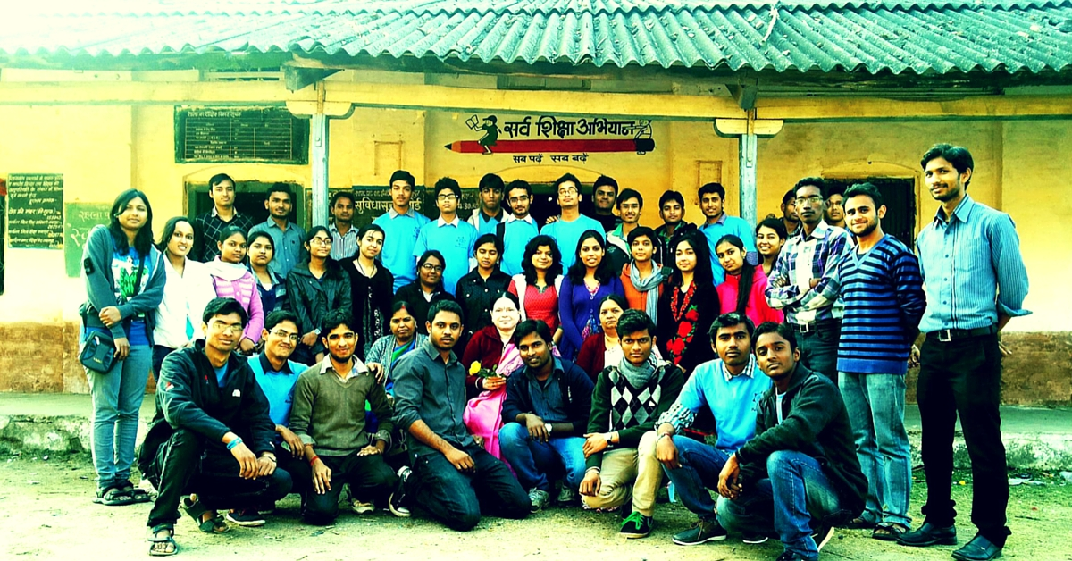 150 College Students in Jabalpur Are Helping Kids Living in Slums Prepare for Admission Tests