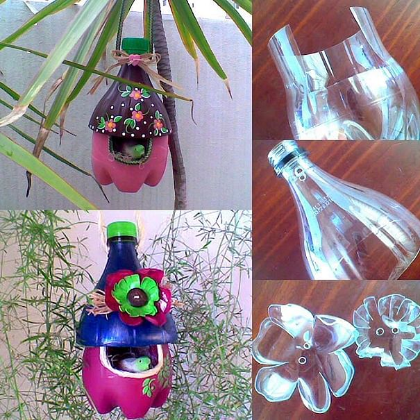 plastic-bottle-bird-house