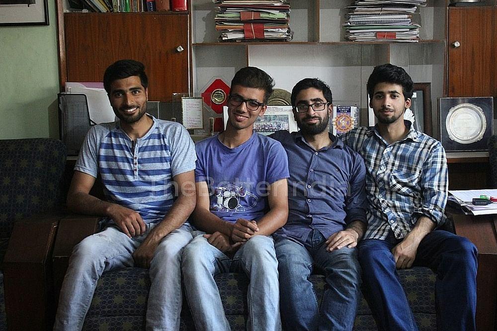 Arif, Aqib, Aneeb, Kaleem (L-R)