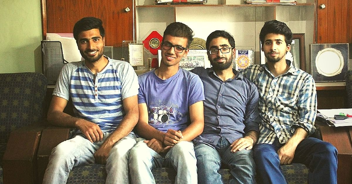 How One Institute Helped 4 Kashmiri Students Crack the IIT Advanced This Year