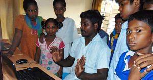 Computer trainer Shiva Kumar
