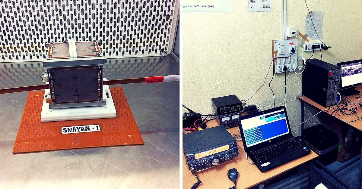 This Ham Radio Club in Pune Designed the Antenna for a Student Satellite Recently Launched by ISRO