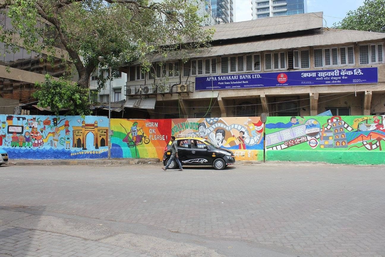 13227835_561901513989140_1354921258898935611_o & Project MAD: Painting Mumbaiu0027s Walls for a Cause