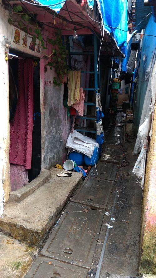 Lanes of Annabhau Sathinagar.