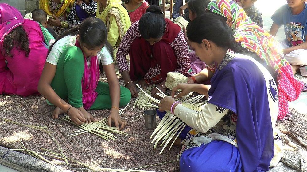 Craft workshop @ Redapur