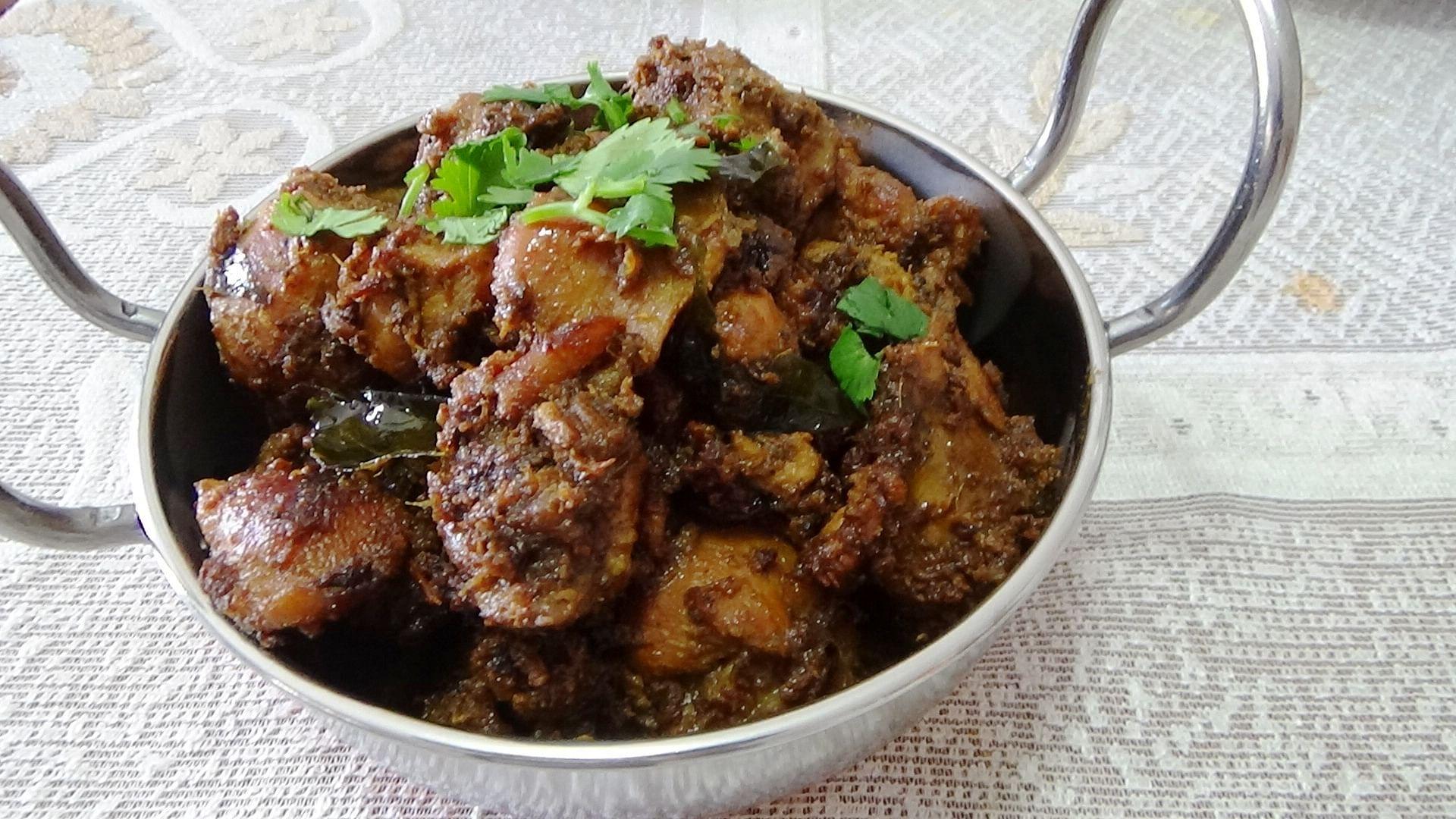 Dry Pepper Chicken Recipe