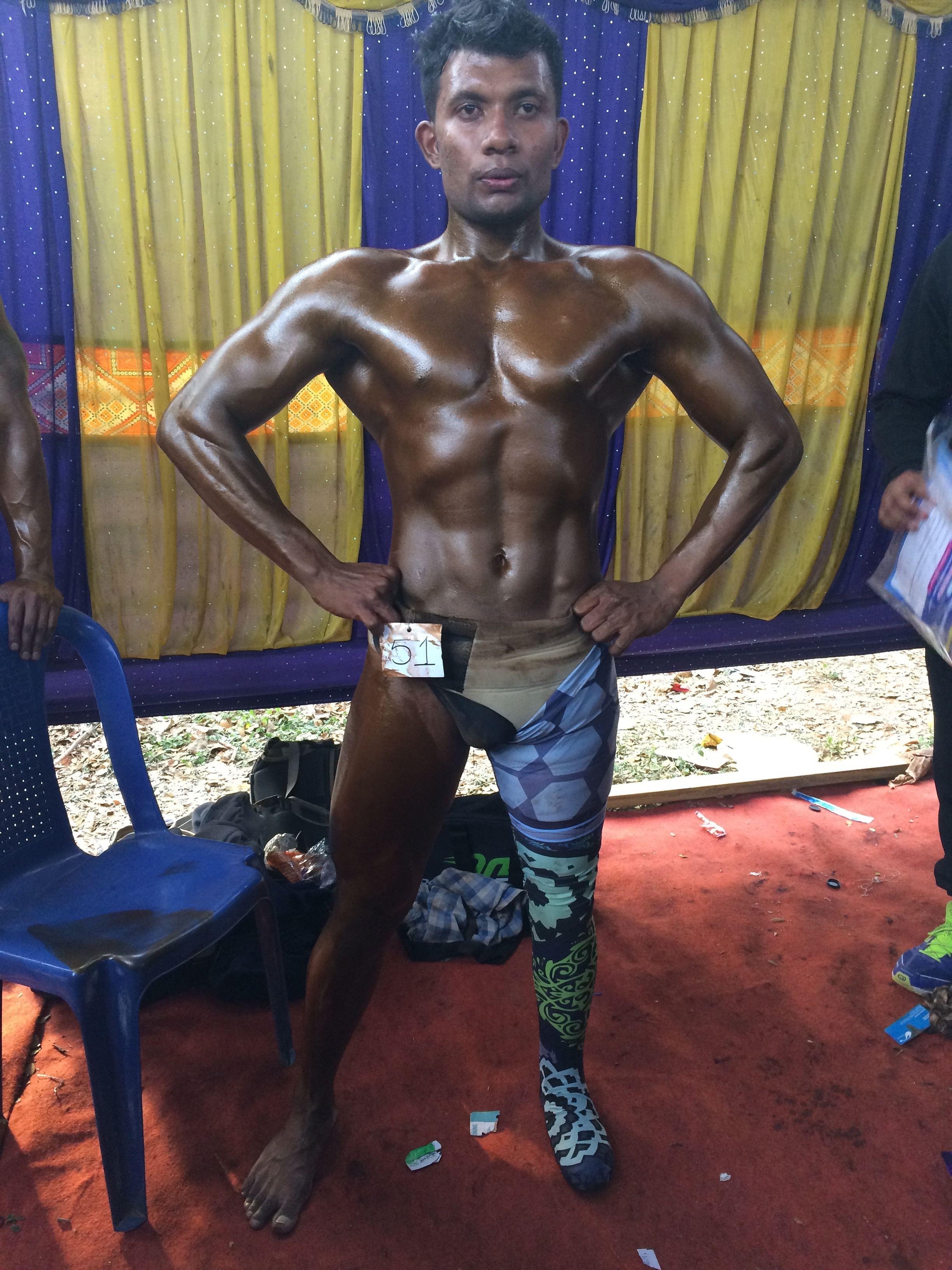Prajwal's designer Rise Legs