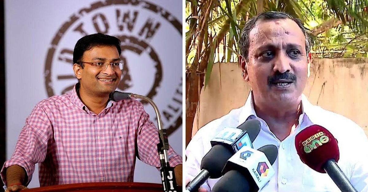 Prasanth Nair and MK Raghavan