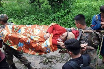 jawans rescue woman