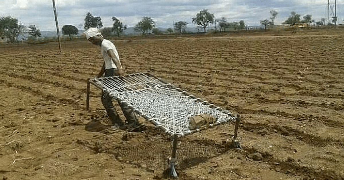 In the Face of Extreme Hardship, This Farmer Did Something Incredibly Brave to Till His Land