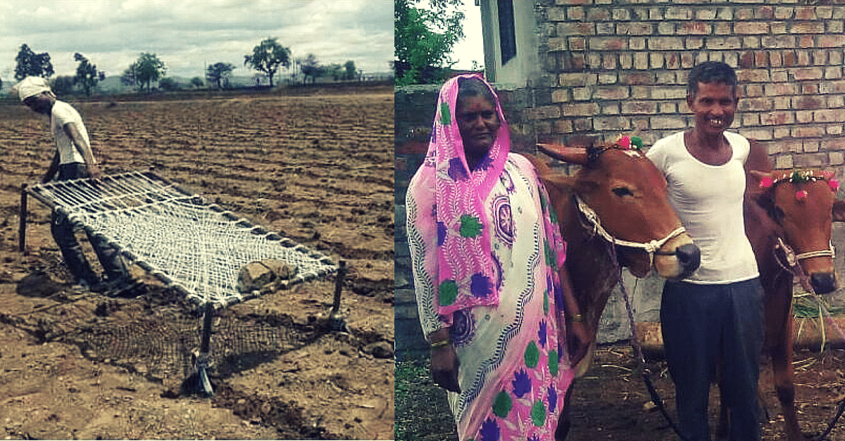 The Farmer Who Tilled his Land with a Cot, Now has a Pair of Bulls. Thanks to You, Our Readers!